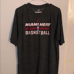 Adidas Miami Heat Dry Fit Medium T-Shirt